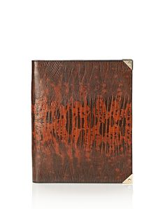 prisma ipad case in embossed amaretto with pale gold - Small leather good Women - Accessories Women on Alexander Wang Online Store