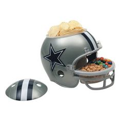 Dallas Cowboys Snack Helmet  http://www.fansedge.com/Dallas-Cowboys-Snack-Helmet-_860619326_PD.html?social=pinterest_pfid44-28887