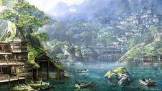 fantasy city - Pesquisa Google