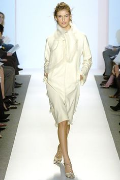 Fall 2005 Ready-to-Wear  Lela Rose  Model  Caroline Francischini (SUPREME)