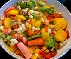 Naleśniki zapiekane z mięsem i warzywami - Blog z apetytem Fruit Salad, Cobb Salad, Cement, Blog, Fruit Salads, Blogging, Concrete