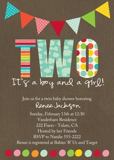 Two Baby Shower
