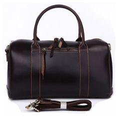 Emperor Leather Duffle, Leder Reisetasche, Emperor Leather