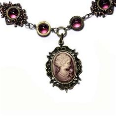 steampunk cameo necklace 2 by catherinetterings artisan crafts jewelry ...