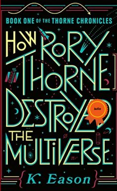 Princess Rory Thorne must use the fairy blessings gifted to her at birth to change the multiverse--or possibly destroy it. How Rory Thorne Destroyed the Multiverse is a feminist reimagining of familiar fairytale tropes and a story of resistance and self-determination--how small acts of rebellion can lead a princess to not just save herself, but change the course of history.