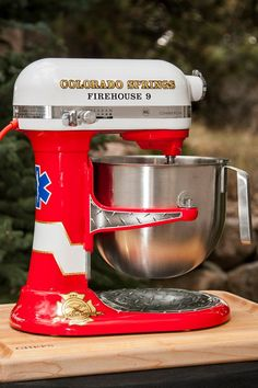 Colorado Springs Firehouse 9--- wish my kitchenaid looked like this