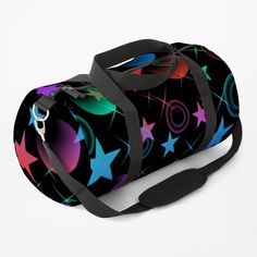 Duffel Bag, Abstract Pattern, Clutches, Print Design, Shoulder Strap, Just For You, Stars, Stuff To Buy, Color