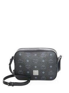MCM Visetos Mini Camera Bag