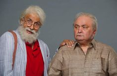 102 Not Out first look: Amitabh Bachchan plays daddy to Rishi Kapoor. See photos. After 26 years, Amitabh Bachchan and Rishi Kapoor are working together.