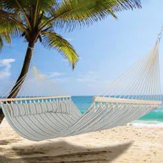 Double Size Hammock with Pillow and Spreader Bar Striped  Reference: ZX 010310-00331