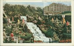 olson rug waterfall, fond memories of this magical place in the middle of the city.