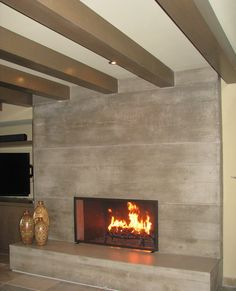 10 Ultimate Cool Tips: Fake Fireplace Bookshelf fireplace living room decor.Vertical Wood Fireplace fireplace with tv above couch.Contemporary Fireplace And Tv. Living Room Decor Fireplace, Country Fireplace, Tall Fireplace, Fireplace Garden, Fireplace Bookshelves, Fireplace Cover, Concrete Fireplace, Farmhouse Fireplace, Fireplace Hearth
