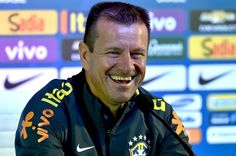 Brazilian national football team coach Dunga gives a press conference after a training session  session at Allianz Parque stadium, in Sao Paulo, Brazil on June 6, 2015 on the eve of a friendly football match against Mexico, in preparation for the upcoming Copa America 2015 to be held in Chile from June 11 to July 4.