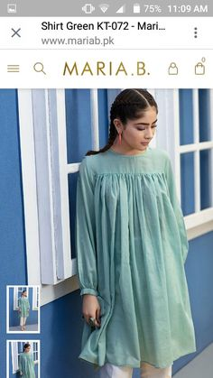 Best 12 Types of peasant top Pakistani Fashion Casual, Pakistani Dresses Casual, Pakistani Dress Design, Muslim Fashion, Casual Dresses, Stylish Dresses For Girls, Stylish Dress Designs, Dress Neck Designs, Designs For Dresses