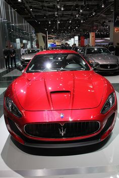Visit The MACHINE Shop Café... (Best of Maserati @ MACHINE) The Maserati Gran Turismo MC