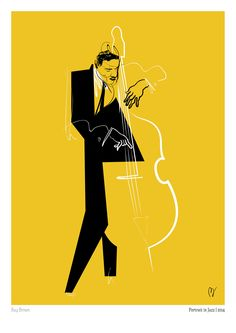 Portrait in Jazz on Behance Jazz Art, Jazz Music, Digital Illustration, Graphic Illustration, Inspiration Artistique, Jazz Poster, Wow Art, Jazz Blues, Art Graphique