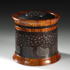 Lost Orchard II, by Steven Kennard - a woodturner and sculptor living and working in Nova Scotia, Canada.