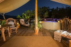 Where to #glamp it up in #America: Eluxe Magazine #glamping