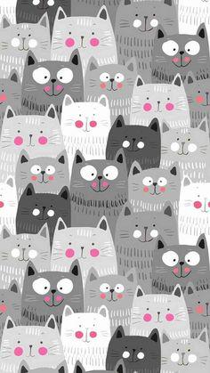 iphone wallpaper cat Papis de parede de gatinhos fofos para whatsapp e celular Wallpaper Gatos, Cat Wallpaper, Mobile Wallpaper, Wallpaper Backgrounds, Leaves Wallpaper, Laptop Wallpaper, Iphone Backgrounds, Animal Wallpaper, Wallpaper Ideas