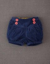 Baby Cord Bloomers (Soft Navy)