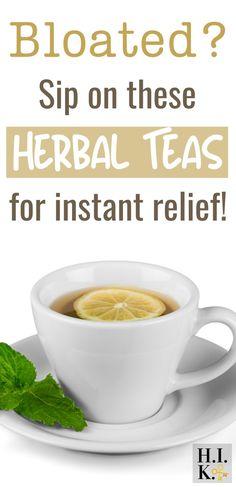 Drinks For Bloating, Anti Bloating, Reduce Bloating, Bloating Remedies, Best Herbal Tea, Best Tea, Herbal Teas, Herbal Plants, Herbs
