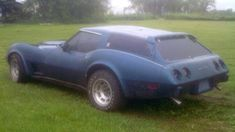 In the seventies, what was a guy to do if he wanted a sports car with some hauling capacity? Well, he could have had the guys over at Greenwood perform their Sport Wagon conversion on a Corvette! 1977 Corvette, Chevrolet Corvette, Chevy, Sports Wagon, Flower Car, Shooting Brake, Japanese American, Rally Car, Barn Finds