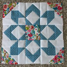 Fireworks Quilt Blocks - Hopeful Homemaker - Months ago I made my first block of Camille Roskelley's Fireworks quilt pattern, then got busy wi - Star Quilt Blocks, Star Quilt Patterns, Pattern Blocks, Star Quilts, Shirt Patterns, Pattern Sewing, Pants Pattern, Clothes Patterns, Dress Patterns