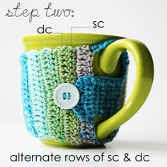 Vida Made Creaciones: Crochet Taza Cozy