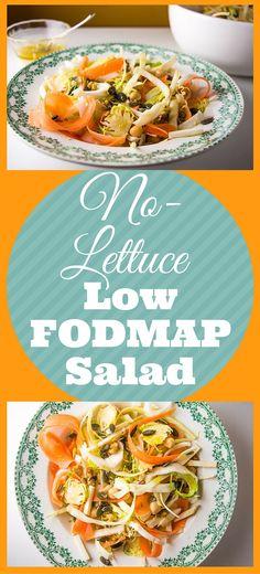 No-Lettuce Low FODMAP Salad I mygutfeeling.eu