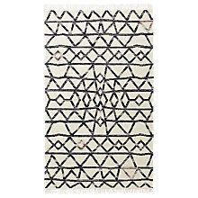 Buy west elm Torres Wool Kilim Multi Rug Online at johnlewis.com