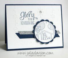 Stampin' Up! Newborn King Card with Filigree Frame #holidaycatalog #stampinup www.juliedavison.com