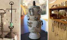 16 Belles idées de récupération d'objet, pour ranger les bijoux!
