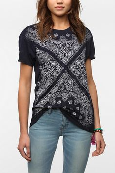 Truly Madly Deeply Amazing Bandini Tee  #UrbanOutfitters