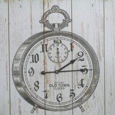 Horloge Decoration Rétro Chic