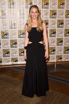 WHO: Jennifer Lawrence WORE: Louis Vuitton WHERE: Comic-Con 2015