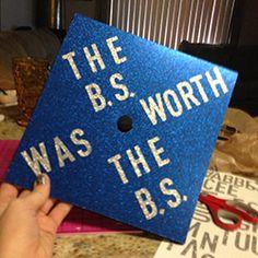 bs decorated graduation caps