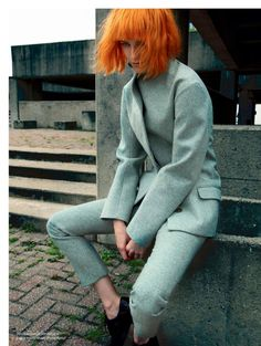 visual optimism; fashion editorials, shows, campaigns & more!: shape up: sam rayner by leda & st. jacques for elle canada october 2014