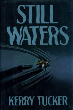 The typeface in this example has a wave effect dealing with the tittle of still waters