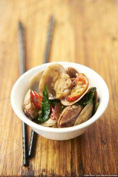 La palourde comme vous ne l'avez jamais goûtée ! En direct deTaiwan, l'un des pays de Cocagne de la gastronomie.