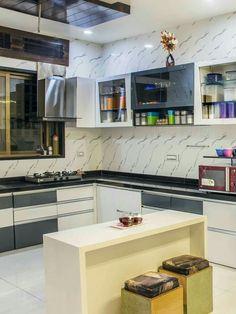 Kitchen Drawers, Kitchen Pantries, Kitchen Storage, Kitchen Cabinets, Tv  Units, Tv Walls, Kitchen Interior, House Design, Pantry