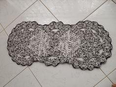 Tapetesa: Tapetinho circular de croche
