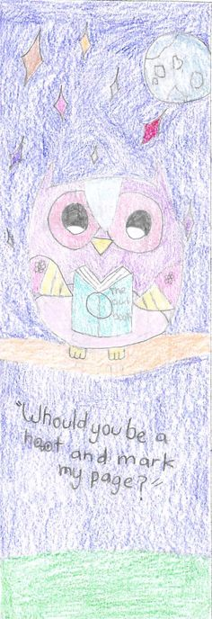 """""""Whould you be a hoot and mark my page?"""" by Nitdana 