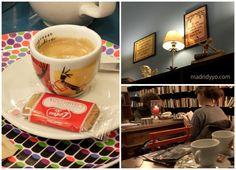 Via Margutta, el café secreto de la Librería Ocho y Medio | www.madridyyo.com