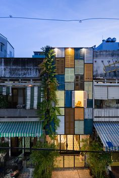 Vegan House by Block Architects adaptive reuse vietnam