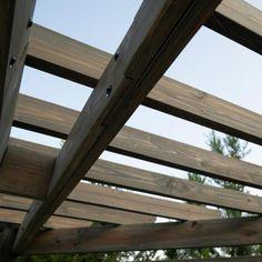 Laguna Cabana Barnwood Pergola with 3-Piece Cedar Patio Conversation Deep Seating Set with Sunbeam Indigo Cushions Foyers, Patio Table, Backyard Patio, Backyard Seating, Backyard Ideas, Pool Ideas, Garden Ideas, Cabanas, Courtyards