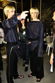 Sonny Vandevelde - Juun.J SS16 Men Fashion Show Paris Backstage
