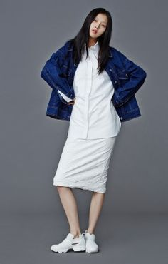 koreanmodel:  Kim Sunghee for Low Classic Fall 2014 collection