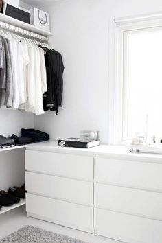 Image result for dresser in walk in closet