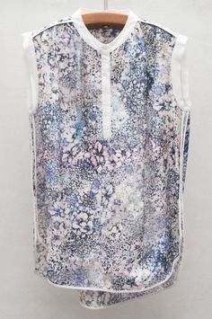 Pretty Meadow Print Top - nature-inspired floral printed fashion // Rebecca Taylor