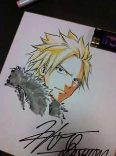 Sting, Fairy Tail by Hiro Mashima